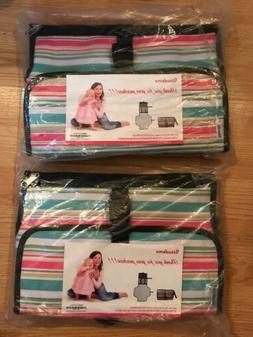 new lot of 2 portable changing pad