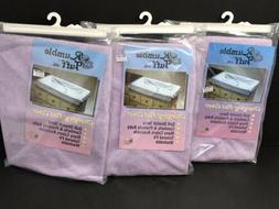 NEW Lot Of 3 Rumble Tuff Changing Pad Cover  - Purple