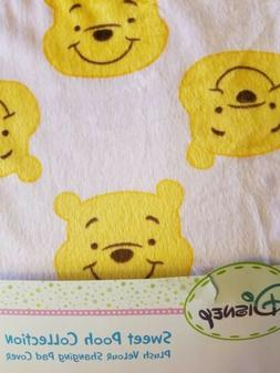 NEW DISNEY SWEET POOH WINNIE THE POOH PINK CHANGING PAD SHEE