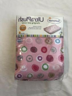 New Summer Infant Ultra Plush Changing Pad Cover  Whimsical