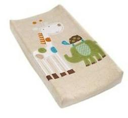 New Ultra Plush Changing Table Pad Cover Safari Stacks