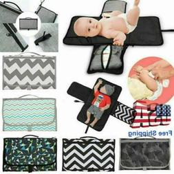 Newborns Foldable Waterproof Baby Diaper Changing Mat Portab