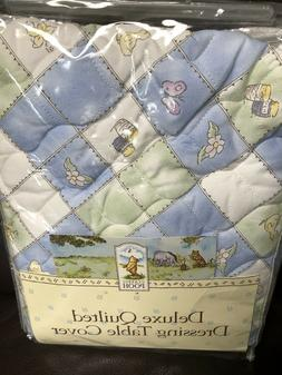 NIP Disney WINNIE THE POOH Deluxe Quilted Changing Table Pad