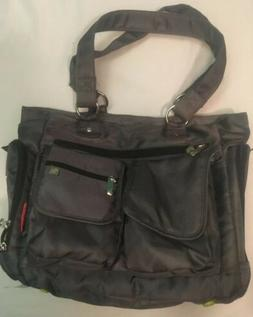 NWOT Fisher Price Deluxe Organizer Baby Diaper Bag Front Poc