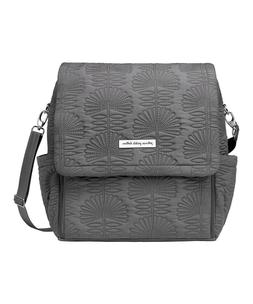 NWT Petunia Pickle Bottom Diaper Boxy Backpack Gray Champs E