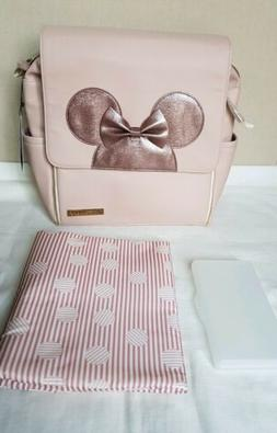 nwt disney pink minnie mouse boxy diaper