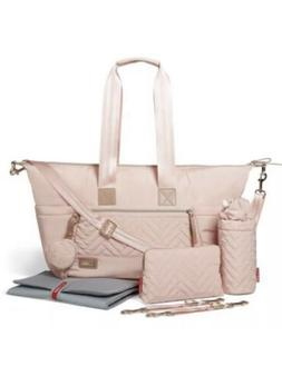 NWT Skip Hop Suite Diaper Tote Bag Satchel Set - Blush 7 Pie