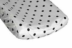 onyx black dots changing pad cover fits