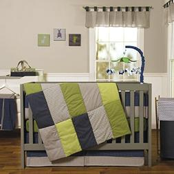 Trend Lab Perfectly Preppy 8-PC Nursery Crib Bedding Set