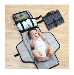 Portable Baby Changing Pad Diaper Clutch- Great For Travel-