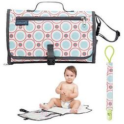 Portable Baby Changing Pad for Girls and Boys - Waterproof D