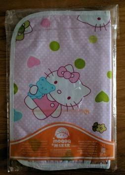 Portable Baby Changing Pad - Hello Kitty