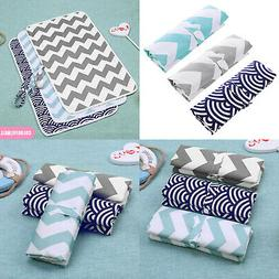 Portable Baby Diaper Changing Mat Bed Pads Bag Reusable Wipe