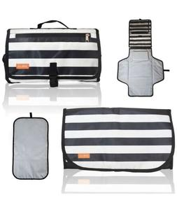 Portable Baby Diaper Changing Pad Mat with built-in Head cus