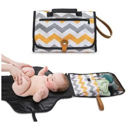 Portable Baby Diaper Changing Pad Station - Travel Diaper Or