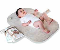 MoBaby Portable Changing Pad, Luxurious Soft-as-Suede Change