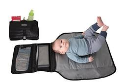 Alphabetz Portable Baby Changing Pad Diaper Bag Mat & Foldab