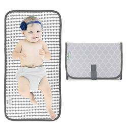 Baby Portable Changing Pad, Diaper Bag, Travel Mat Station,