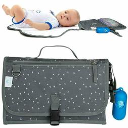 Portable Changing Pad Nappy Clutch Baby Changing Station wit
