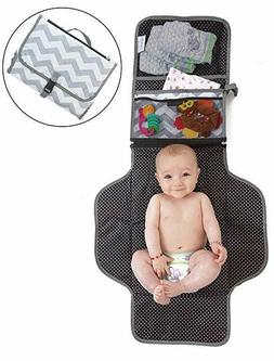 Portable Changing Pad – Padded Baby Changing Station, Port