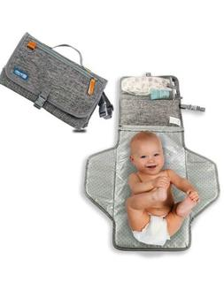 Portable Changing Pad - Waterproof Diaper Changing Pad