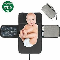 WoNiu Portable Changing Pad Waterproof Diaper Clutch Station