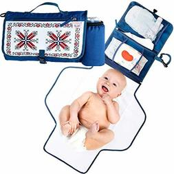 Portable Changing Pad with Detachable Extension for Babies
