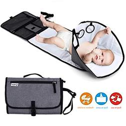 Baby Portable Changing Station,Diaper Changing Mat,Travel Di