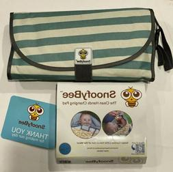 SnoofyBee Portable Clean Hands Changing Pad. 3-in-1 Diaper C