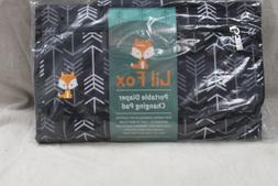 Portable Diaper Changing Pad by Lil Fox Use One Handed Water