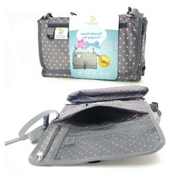 Portable Diaper Changing Pad with Built-in Head Pillow Shoul