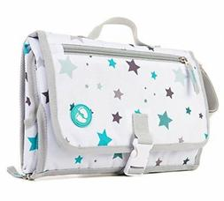 Portable Diaper Changing Pad with Pockets | Baby Changing Ma