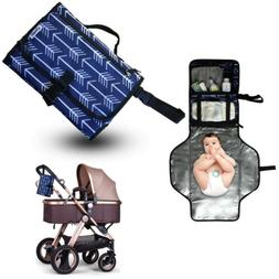 Portable Diaper Clutch Baby Changing Pad, Waterproof, great