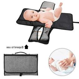 Portable Infant&Newborn Changing Pads Baby Diaper Station Cl
