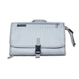 portable waterproof changing pad with cushioned mat