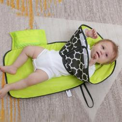 portable waterproof nappy changing pad travel baby