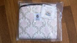 Patemm Round Baby Diaper Travel Changing Pad - Pretty Pink &