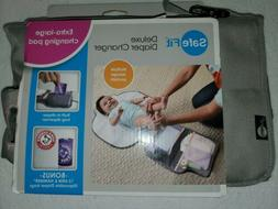 Safe Fit Deluxe Diaper Changer with Extra-Large Changing Pad