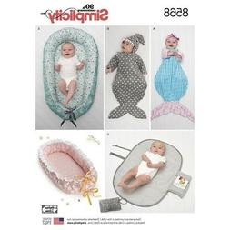 SEWING PATTERN! MAKE BABY ACCESSORIES! BABY NESTS~SWADDLING