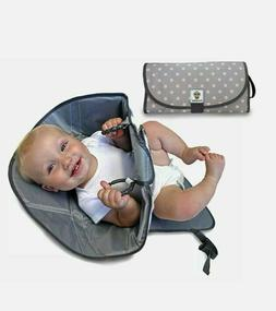 SnoofyBee Portable Clean Hands Changing Pad Diaper Clutch