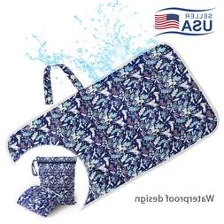 Soft Baby Diaper Changing Pad Cover Waterproof Nappy Mat Pra