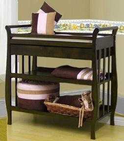 SOLID HARDWOOD 3 TIERS DRAWER & BABY INFANT CHANGING TABLE W