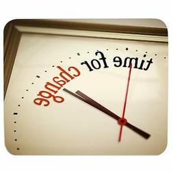 Time To Change Mousepad Mouse Mat Rectangular Mouse Pad Rubb