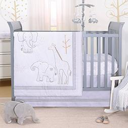 Tons of Love Jungle Animal 5 Piece Baby Crib Bedding Set - E