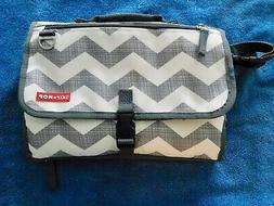 SKIP*HOP Two In One Baby Changing Station Diaper Clutch And