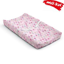 ultra plush changing pad cover pink swirl