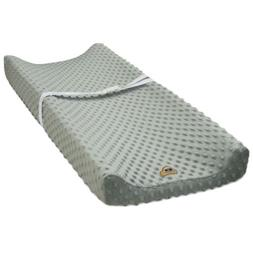 ultra soft minky dot changing pad cover