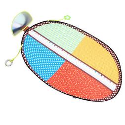 Urine Pad Diaper Changing Mat Playmat with Mirror Toys for B