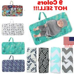 US 2019 Baby Portable Folding Diaper Travel Changing Pad Wat