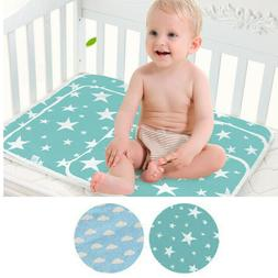 Waterproof Changing Diaper Pad Cotton Washable Baby Infant U